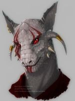 Teonis_argonian by VictoriaDAEDRA