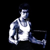 Bruce Lee-11 by kse332