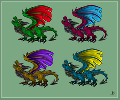 Dragon adopts (OPEN) by giantdragon