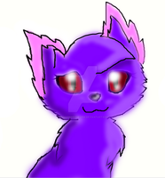 My cat OC.. by strawberrymeopin