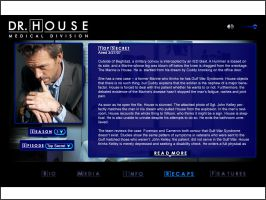 House minisite recaps page by DaggersDrawn