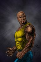 Luke Cage by JMan 3H color by Mich974