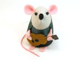 Jimmy the Guitarist Mouse by The-House-of-Mouse