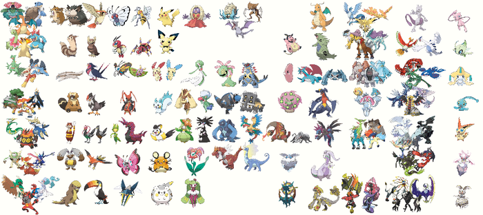 Recurring Pokemon Themes by quintonshark8713