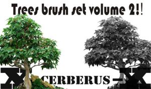 Trees brush set volume 2 by X-Cerberus-X
