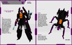 INSECTICON CUDGEL by F-for-feasant-design