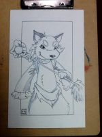 Yu-Gi-Oh Fox Thingy by MBrazee