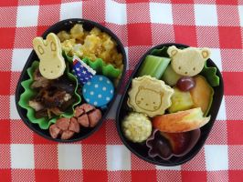 Memorial Day Bento by ScarleyKwinn