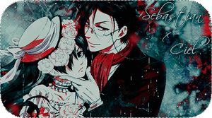 Ciel And Sebastian Signature -Out- by MayMugiLee