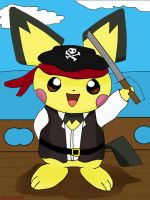 jimmy the pirate by pichu1990