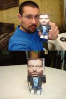 Dr House Hako Papercraft by ryo007