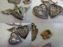 Steam Punk Locket by rex-of-twilight