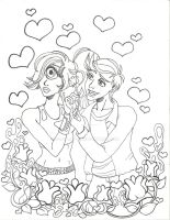 FRY AND LEELA VALENTINES by Quaylove3