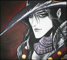 Vampire Hunter D by crimsonmansion