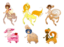 { Centaur Adopts - Open, Lowered Again } by YaoiDaddy