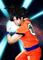 Goku (another edit) by worldcollider