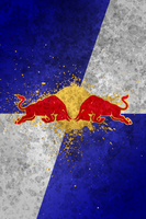 Red Bull iPhone 4 Wallpaper by cderekw