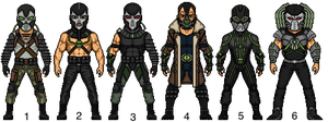 Bane : Choose Your Fave!! by snakeyboy888