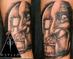 Abnormal Tattoo by dottcrudele