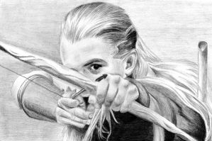 Legolas - The Lord of the Ring by pikkuclara