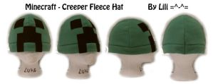 Minecraft Creeper Hat by LiliNeko