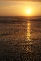beach sunset by fotophi