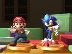 Mario and Sonic by UKD-DAWG
