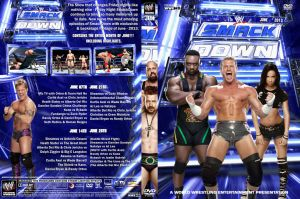 WWE Samckdown June 2013 DVD Cover by Chirantha