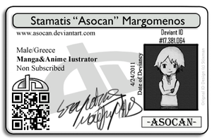 Asocan's Deviant ID by Asocan