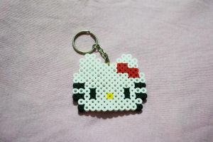 hello kitty perler beads by kiri-chan1990