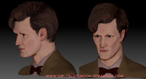 zBrush Matt Smith Sculpt by Girl-on-the-Moon