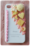 iPhone 4/4s Decoden Case (for sale) by PeachMilktea