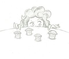 Pinkie Pie with Muffins by Doorooz