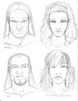 Faces and names by maxblackrabbit
