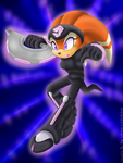 Collab: The Nocturnus Fighter by RubintheHorse