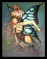 Lady Butterfly by Lelys