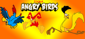 The toon angry birds by Aso-Designer