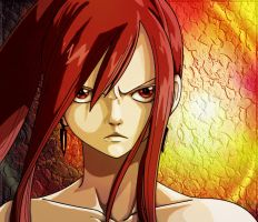 erza scarlet colored by kanogt