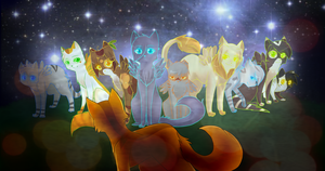 Firestar's nine lives by ninetail-fox