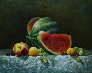 Watermelon and fruits by marcheba