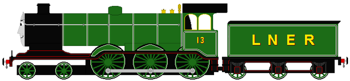 Alfred the Holden B12 (my headcannon) by RyanBrony765