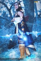 Ashe - League of Legends by NunnallyLol