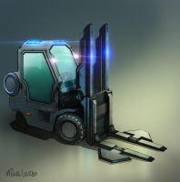Forklift by Miggs69