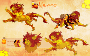 Kenno - Aetherling MYO by Grypwolf