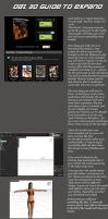 Daz 3d -  Quickfire guide by Smegman9