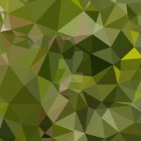 Sap Green Abstract Low Polygon Background by apatrimonio
