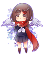 Ayano chibi by Crystallized-Rin