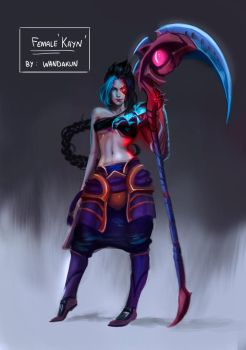 Female Kayn by WANDAKUN