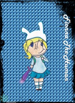 Fionna The-human chibi by lovelove12345q