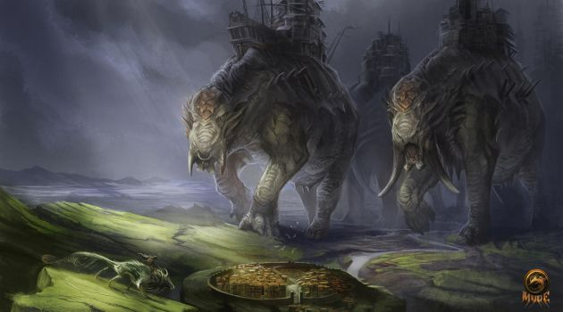 They Are Coming by AlectorFencer